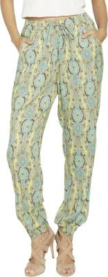 Globus Printed Viscose Women's Harem Pants