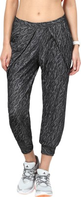 Remanika Solid Cotton Lycra Blend Women's Harem Pants