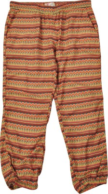 NOQNOQ Geometric Print Rayon Girl's Harem Pants
