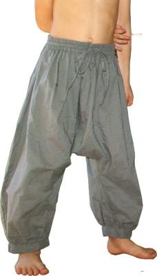 Aummade Solid Cotton Boy's Harem Pants