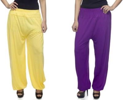 Dee Fashion House Solid Viscose Women's Harem Pants