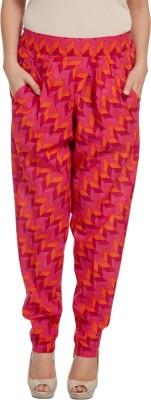 Enah Printed Cotton Women's Harem Pants