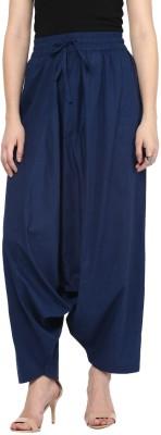 Rangmanch by Pantaloons Solid Cotton Women's Harem Pants at flipkart