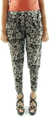 Gwyn Lingerie Floral Print Lycra Women's Harem Pants