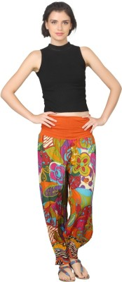 True Fashion Graphic Print Cotton Women's Harem Pants