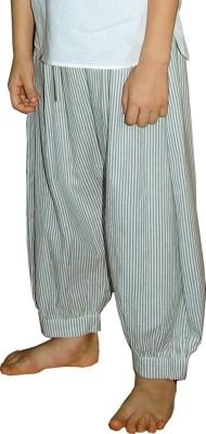 Aummade Striped Cotton Boy's Harem Pants