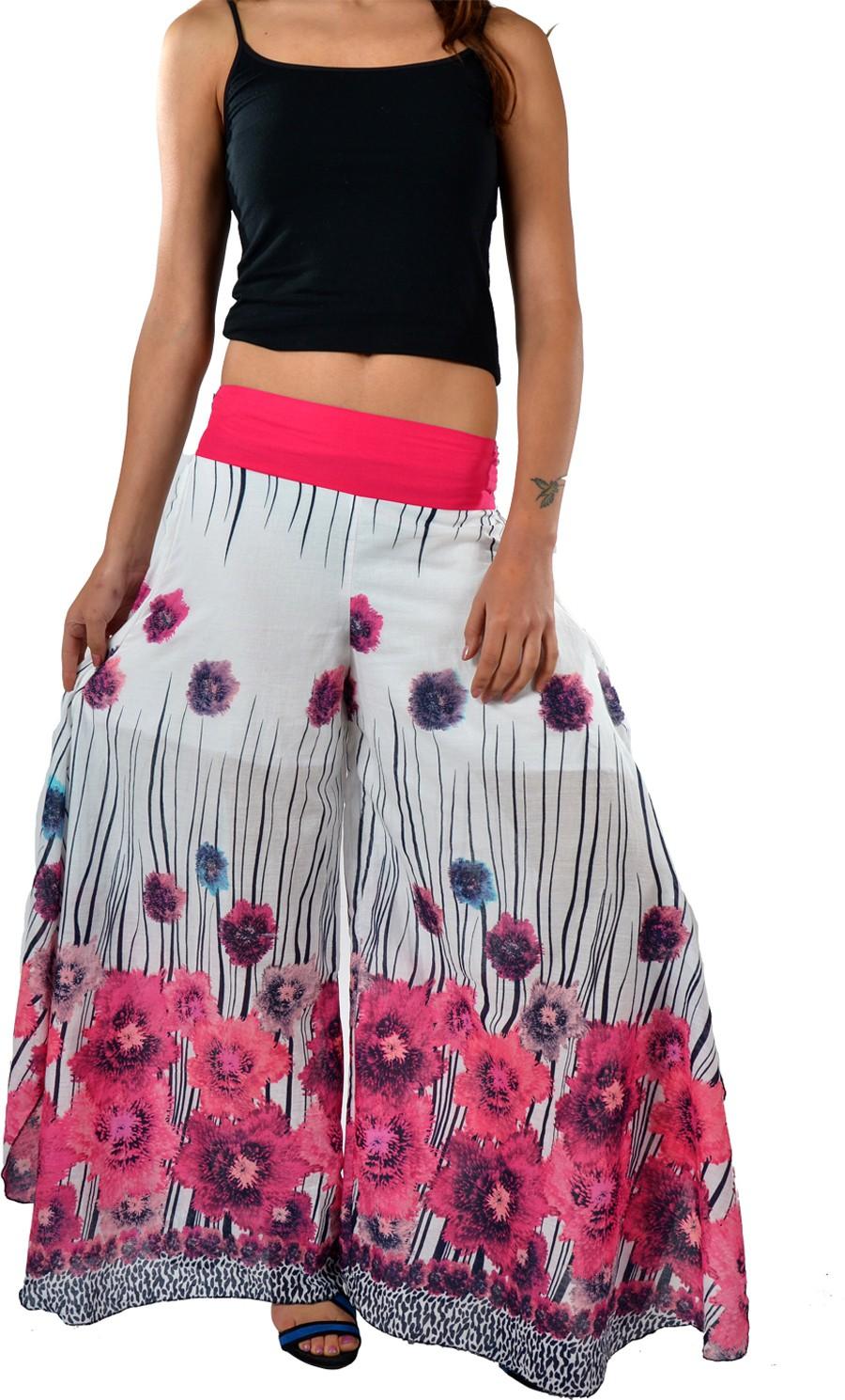 Striyah Couture Floral Print Cotton Womens Harem Pants