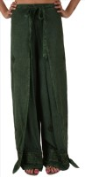 Skirts & Scarves Solid Viscose Womens Harem Pants