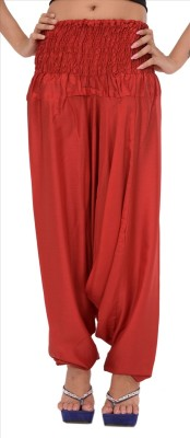 Skirts & Scarves Solid Rayon Women's Harem Pants