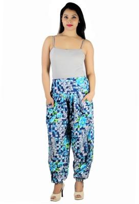 Ankita Printed Rayon Women's Harem Pants