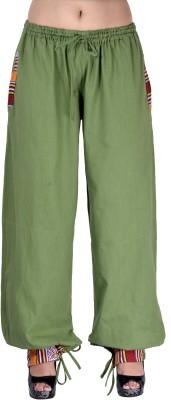 Indi Bargain Solid Cotton Womens Harem Pants