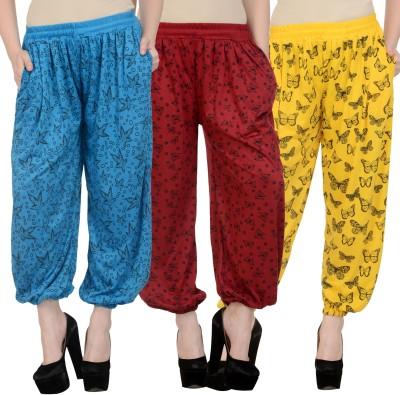 NumBrave Printed Viscose Womens Harem Pants