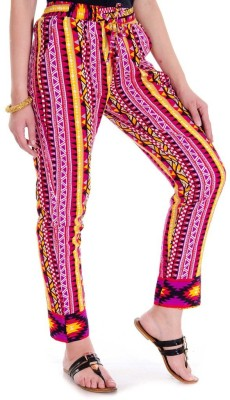 Sunshine Regular Fit Women's Multicolor Trousers