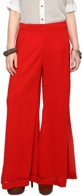 Honey By Pantaloons Solid Polyester Women's Harem Pants at flipkart