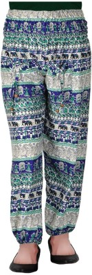 Shop Frenzy Animal Print Rayon Women's Harem Pants