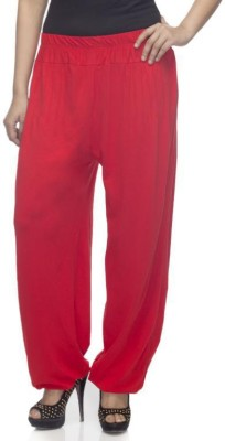 Dee Fashion House Solid Viscose Women,s Harem Pants