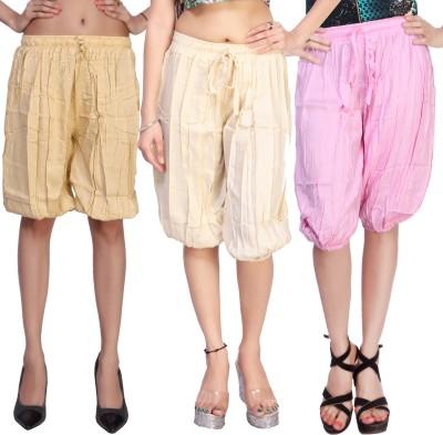 Comix Solid Rayon Women's Harem Pants