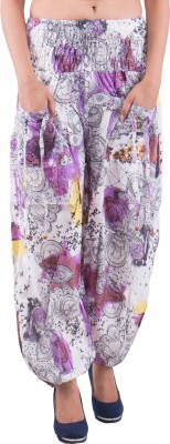 Indi Bargain Printed Cotton Womens Harem Pants