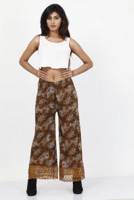 Piara Animal Print Lycra Women's Harem Pants