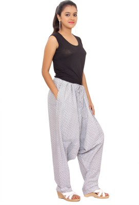 KA Printed Cotton Women's Harem Pants