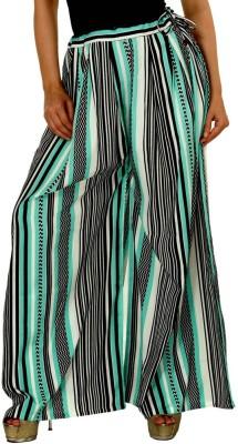 Damsel Chevron Pure Crepe Women's Harem Pants