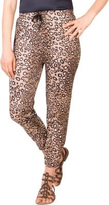 Adonia Animal Print Poly Cotton Women,s Harem Pants