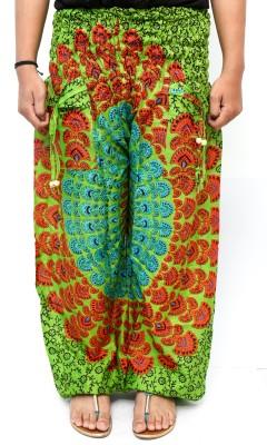 Rustic Village Printed Cotton Women's Harem Pants