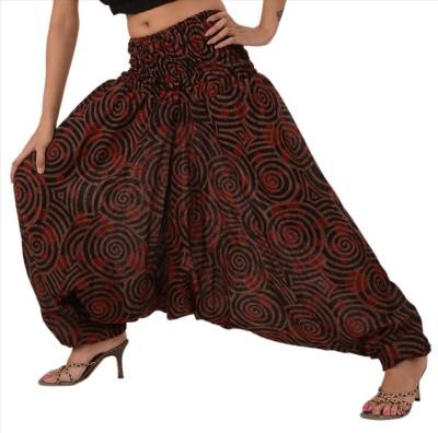 Skirts & Scarves Printed Cotton Women,s Harem Pants