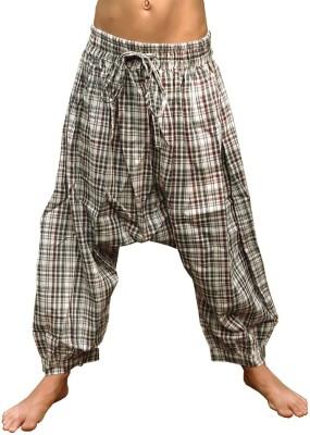 Aummade Checkered Cotton Boy's Harem Pants