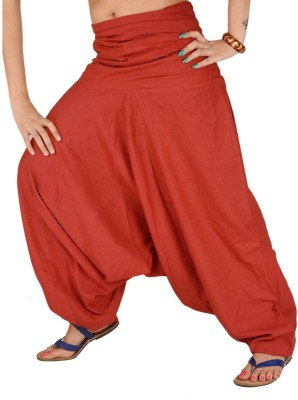 Skirts & Scarves Solid Cotton Womens Harem Pants