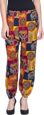 Camey Printed Poly Cotton Women's Harem Pants