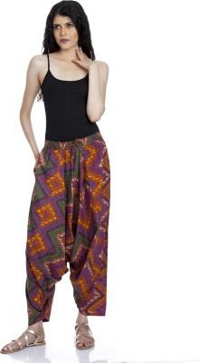 Mansa Printed Cotton Women's Harem Pants