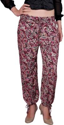 DAMEN MODE Printed Cotton Women's Harem Pants