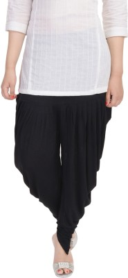 Soundarya Solid Cotton Lycra Blend Womens Harem Pants