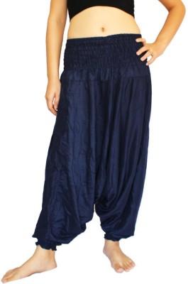 Anvigroup Solid Rayon Women's Harem Pants