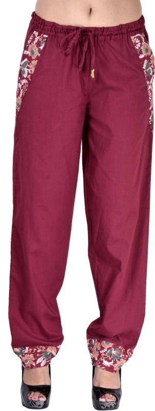 Indi Bargain Solid Cotton Women's Harem Pants