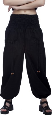 Indi Bargain Solid Cotton Womens Harem Pants