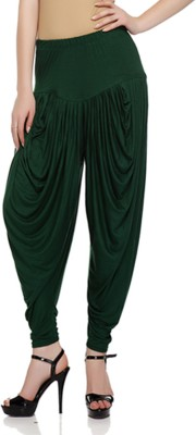 Sakhi Sang Solid Viscose Womens Harem Pants