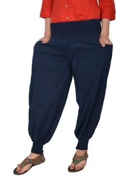 Manvi Embroidered Cotton Women's Harem Pants