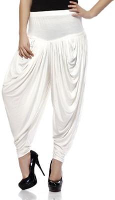 Awesome Solid Viscose, Lycra Women's Harem Pants