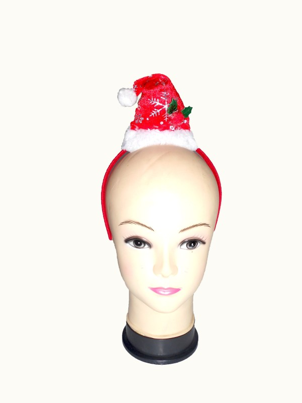 Oxytrends Exclusive Ladies Santa Hairband(Red, Pack of 5)