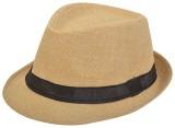 Masti Station Fedora Hat (Beige, Pack of...