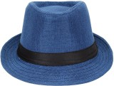 Natali Traders Fedora (Blue, Pack of 1)