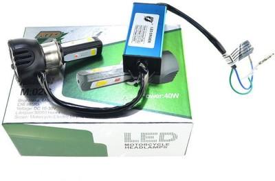 AutoPowerz LED Headlight For Universal For Bike Universal For Bike