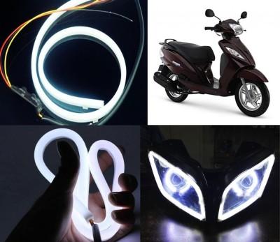Vheelocityin LED Headlight For TVS Wego