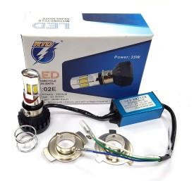 Xtremeonlinestore M02E RTD LED Headlight 35w Conversion Kit For Bajaj Pulsar 150 LED Headlight With Bulb For Bajaj