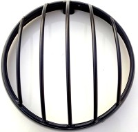 HMRA Power Matte Black Headlight Grill with vertical bars for Royal Enfield Classic Headlight Frame Support(Royal Enfield 2010)