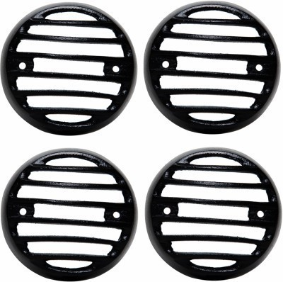 Bikers World Customised Black Heavy Metal Indicator Grill for Royal Enfield Rearlight Frame Support