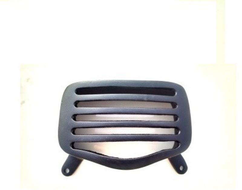 ACCESSOREEZ 0025Matte Black Royal Enfield Standard Rear Brake Light Grill Bike Headlight Grill(Black)