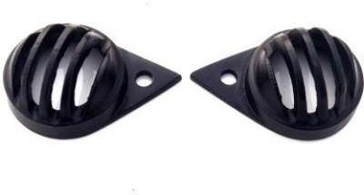 ACCESSOREEZ Customised Black ParkingGrill Cover for Royal EnfieldThunderbird 350 Bike Headlight Grill